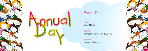 Free Annual Function Invitation With India S 1 Online Tool
