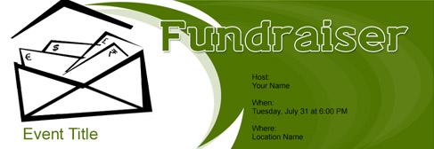 online Fundraiser invitation