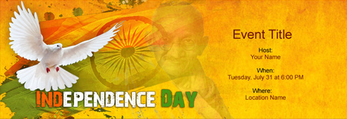 Free Independence Day Invitation With India S 1 Online Tool