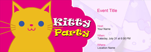 Free Kitty Party Invitation With India S 1 Online Tool