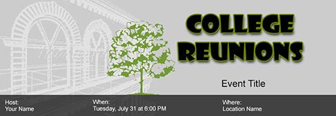 online Reunions invitation