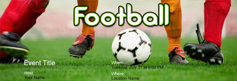 online Sports invitation