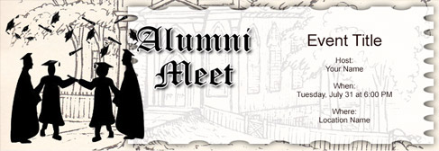 Free Alumni Meet Invitation With India S 1 Online Tool