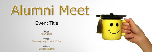 Free Alumni Meet invitation with Indias 1 online tool