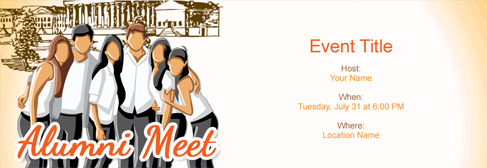 Free alumni meet invitation with indias 1 online tool online alumni meet invitation stopboris