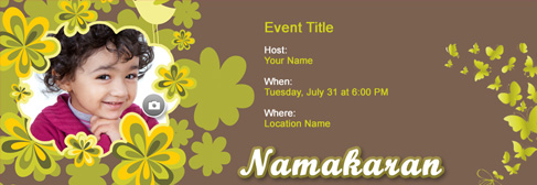 Free baby naming namakaran invitation with indias 1 online tool online baby naming namakaran invitation stopboris Image collections