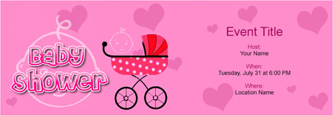 Free Baby Shower invitation with Indias 1 online tool