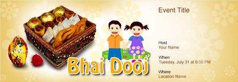 online Bhai Dooj invitation