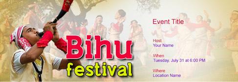online Bihu invitation