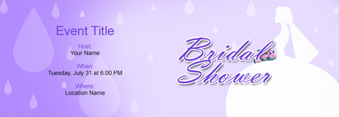 online Bridal Shower invitation
