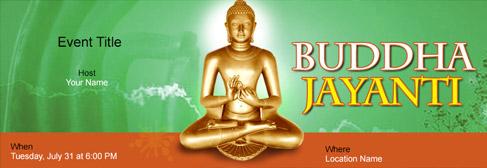 online Buddha Jayanti invitation