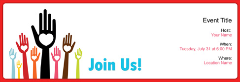 Free Charity Event invitation with India's #1 online tool
