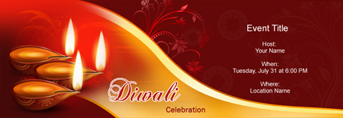 Free Diwali Deepavali Invitation With India S 1 Online Tool