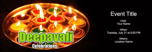 online Diwali / Deepavali invitation