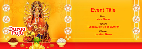 Free online invitations for indian parties and events online navratri festival invitation stopboris Image collections