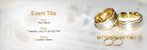 Online Engagement Invitation  Format Of Engagement Invitation