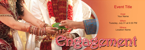 Free Engagement Invitation With India S 1 Online Tool
