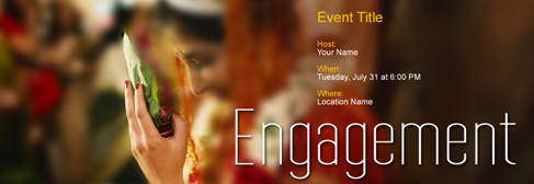 online Engagement invitation