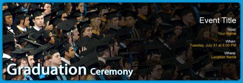 online Graduation invitation