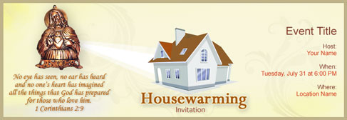 Free House Warming Invitation With India S 1 Online Tool