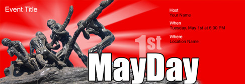 online May Day invitation