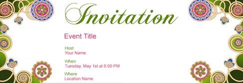online Misc invitation