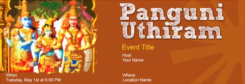online Panguni Uthiram invitation