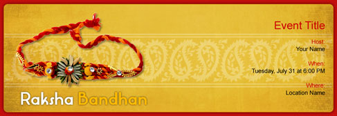 rakhi_raksha bandhan2_thumb free rakhi raksha bandhan invitation with india's 1 online tool,Raksha Bandhan Invitation Messages