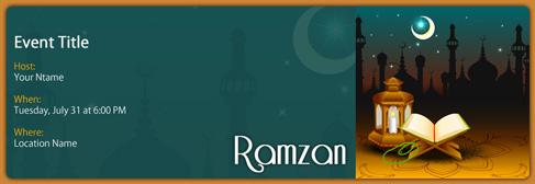 online Ramzan invitation