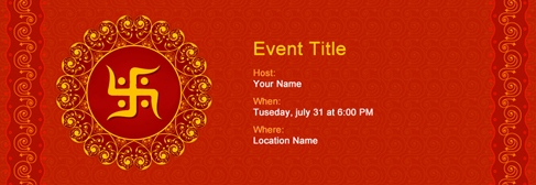 free religious invitation with india s 1 online tool