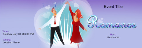 online Romance invitation