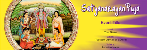 Free Satyanarayan Puja Invitation With India S 1 Online Tool