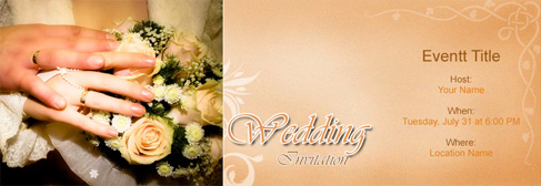 online Wedding invitation