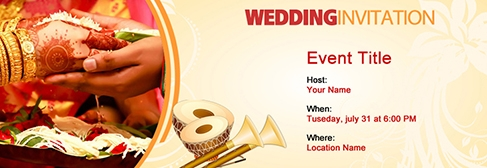 Free Wedding invitation with India's #1 online tool