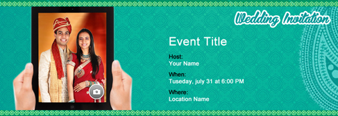 Free wedding invitation with indias 1 online tool online wedding invitation stopboris Image collections