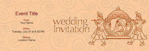 Exceptional Online Wedding Invitation