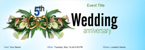 Free wedding anniversary invitation with indias 1 online tool online wedding anniversary invitation stopboris Images